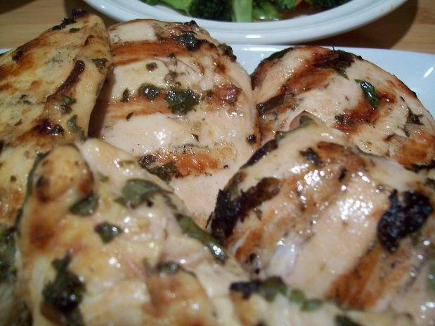 Thyme, Celantro, Oregano, Garlic Grilled Chicken