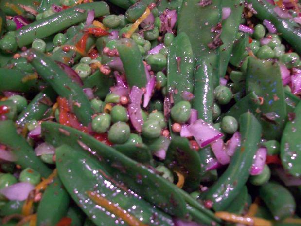 Green Bean Salad with Mustard Seeds,Tarragon andFeta