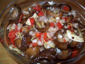 Marinated Mushrooms marinated
