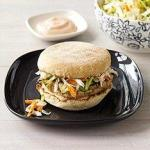 Turkey Burger on English Muffin weight watchers picture