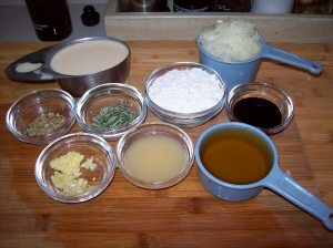 Make Ahead Grvy Ingredients