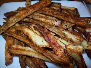 Crispy Oven Baked Russet Fries