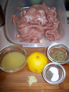 pork Ingredients