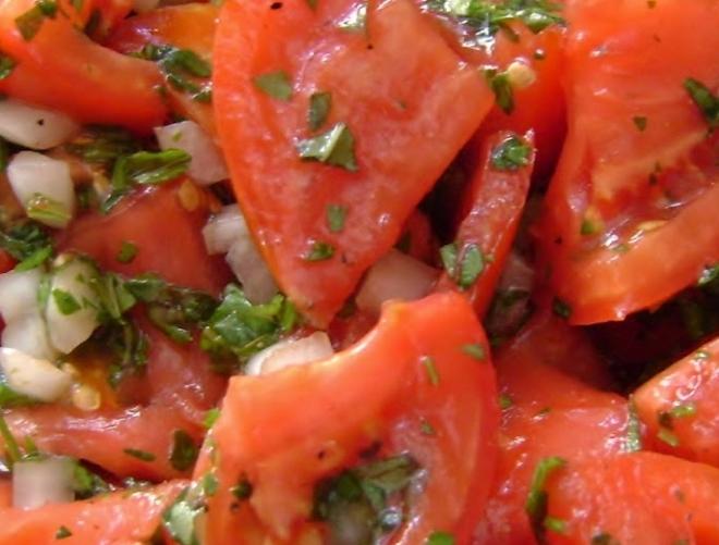diced tomatoe and oregano