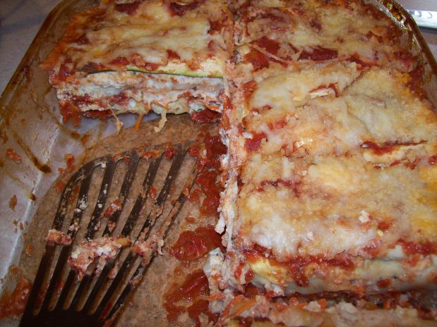 Reign On Steve's Vegetable Lasagna -Week 17