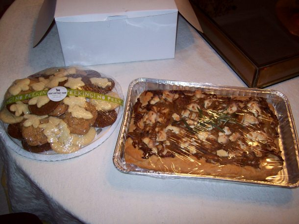 COOKIES AND FOCCACIA