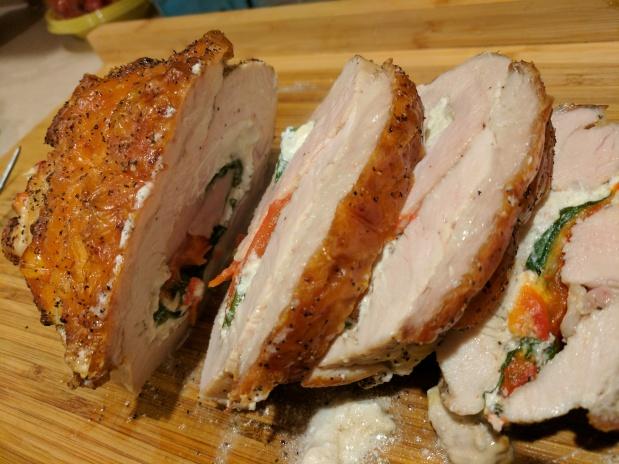 Quick Stuffed TurkeyBreast