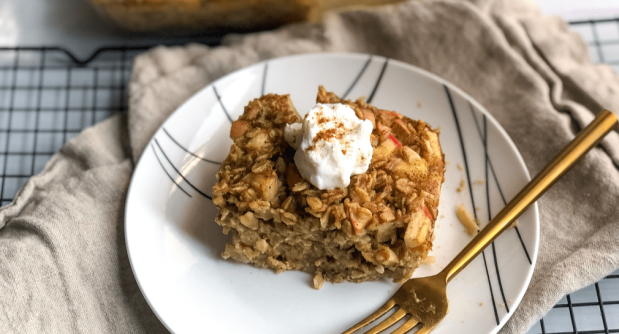 Spiced Apple Baked Oatmeal